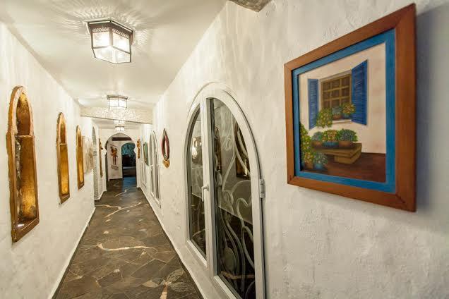 arcos pasillo
