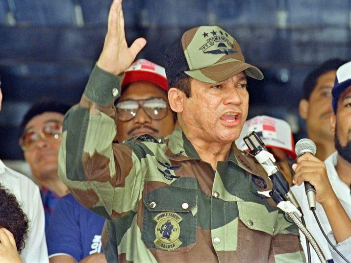 Former Panamanian Dictator, Dead